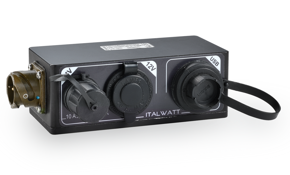 Italwatt - Products - Active Electronic Control Units - Auxiliary Voltage Box