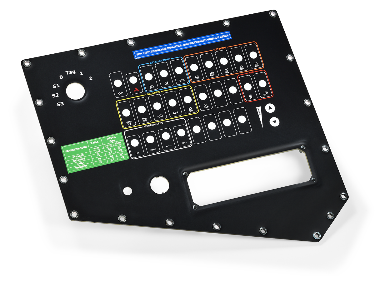 Italwatt - Products - Active Electronic Control Units - Control Panel